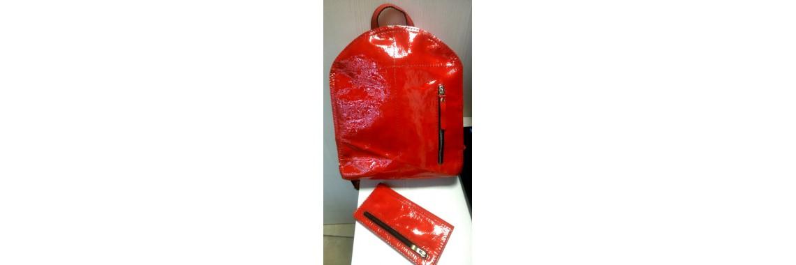 Рюкзак Орион красный лак